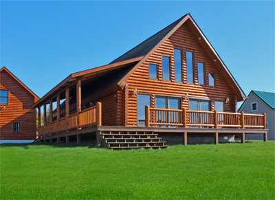 Log homes are custom designed and each will have their own distintive personality.  Working with nature, we create a true work of art that you can call home.